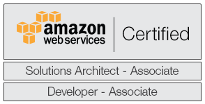 Patrick is a certified Amazon Web Services Solution Architect and Developer