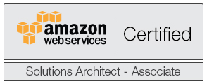 Bryan is a certified Amazon Web Services Solution Architect